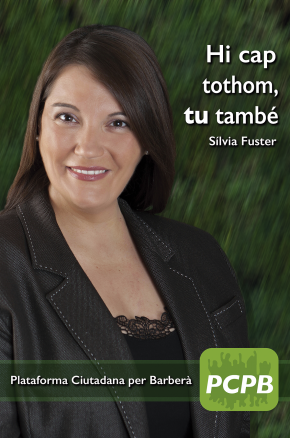 Cartell de Campanya 2014 – Sílvia Fuster
