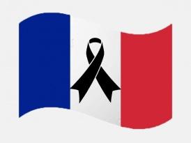 Minut de silenci a les 12h per França